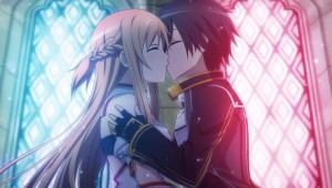 CG Asuna Kiss 2 Hollow Fragment