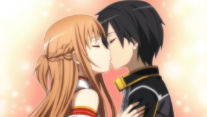 CG Asuna Kiss Hollow Fragment