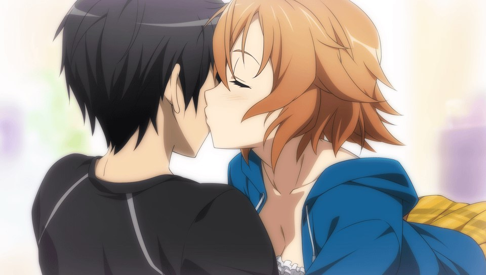 best video game kiss
