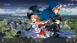 SAO Hollow Fragment Manual Page 6
